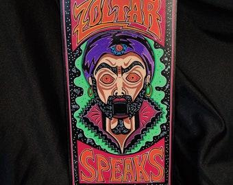 Zoltar Speaks Wooden Coffin