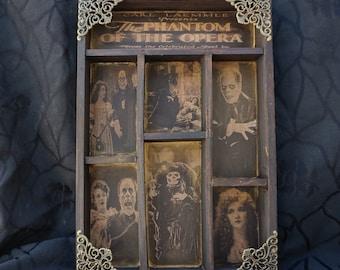 The Phantom of the Opera Cabinet of Curiosities