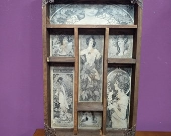 Art Nouveau Cabinet of curiosities