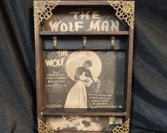 The Wolf Man Poster Key Rack