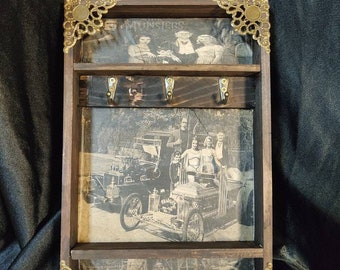 The Munsters Cars Key Rack