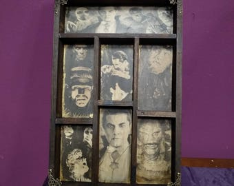 Universal Monsters Mod. 2 Cabinet of Curiosities