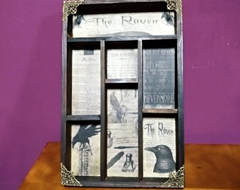The Raven Cabinet of curiosities