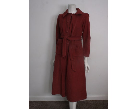 Vintage 1940s Women's Dressing robe dressing gown