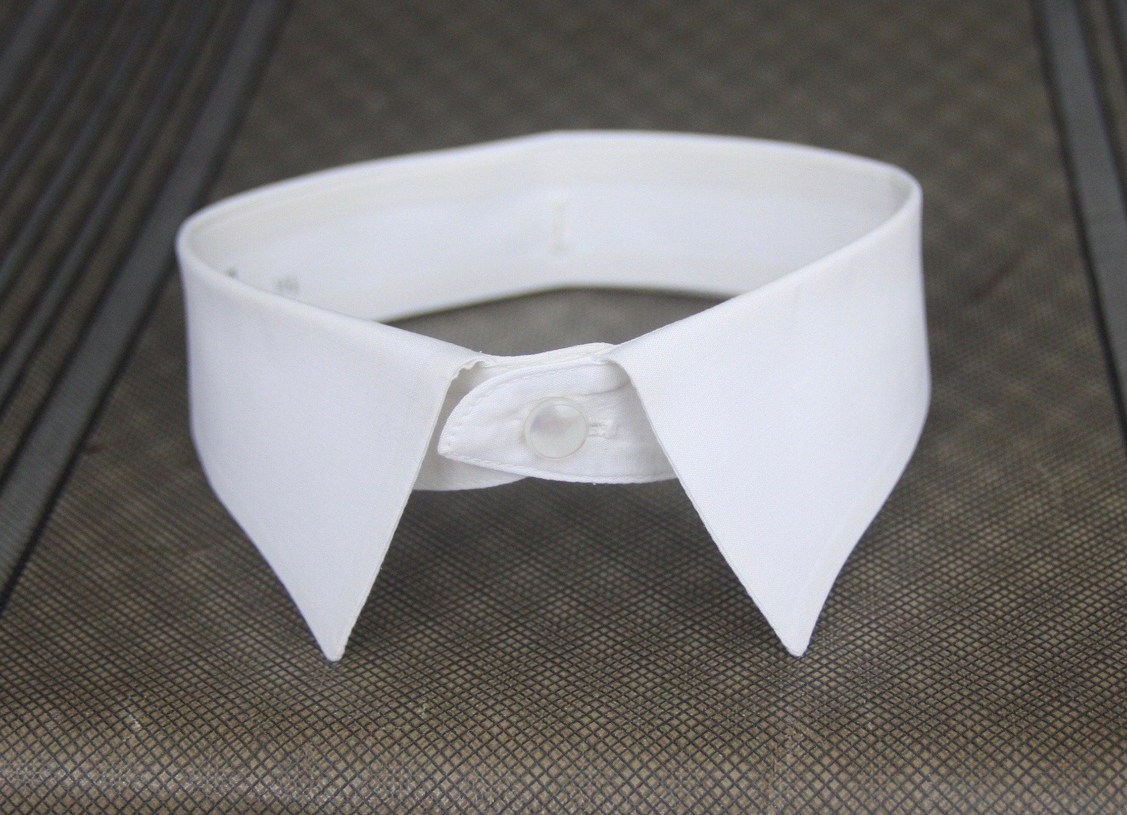 Vintage Mens Detachable Shirt Collar 16 12 Etsy