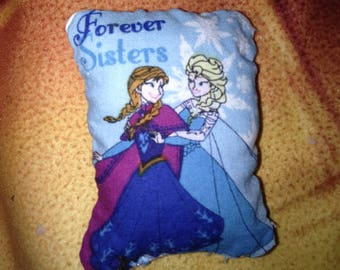 Princess Anna and Queen Elsa Forever Sisters Mini Doll Pillow