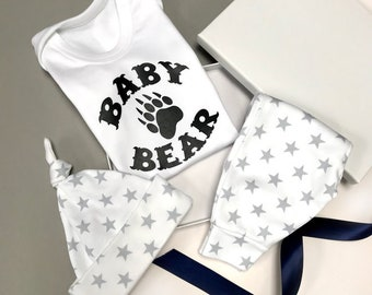 S is for Selena Baby Gift Set Vest and Bib