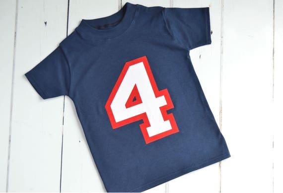 4 Year Old Birthday Shirts Boy Shirt