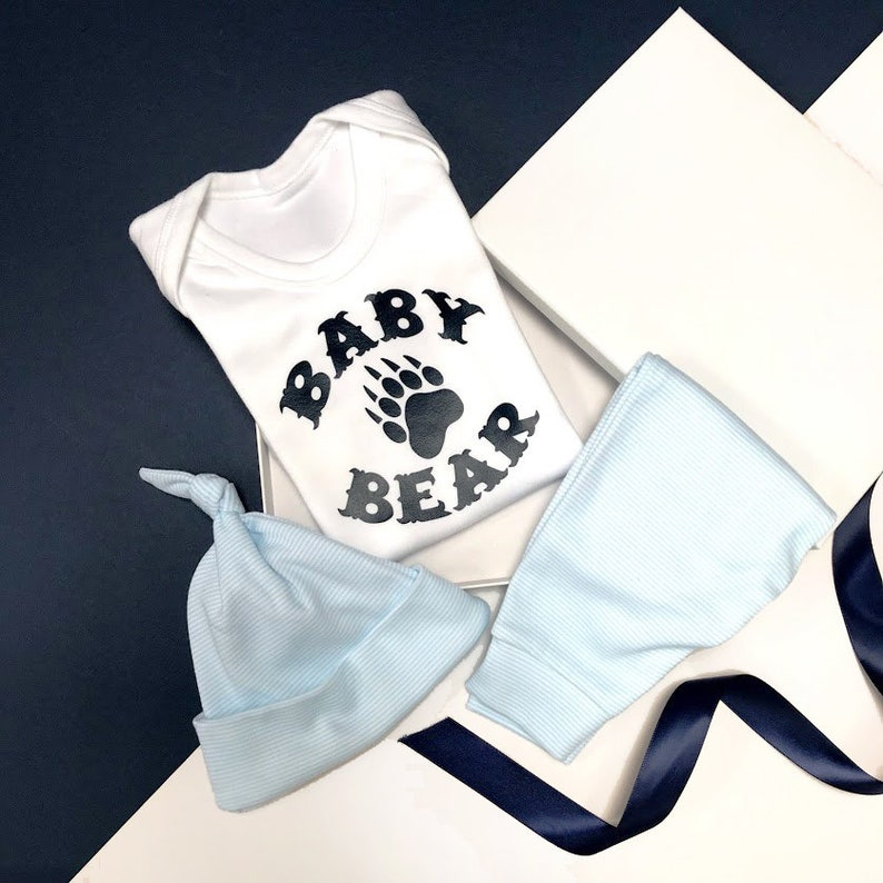 1210b848c682a Baby Bear Coming Home Outfit Baby Boy Baby Home Coming Outfit   Etsy