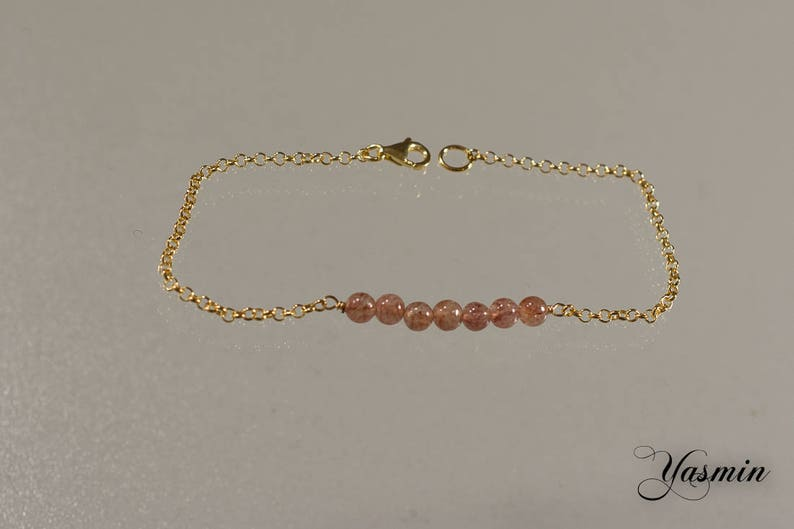 Muscovite in gold plated sterling