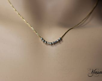 I love you at fine goldfilled chain