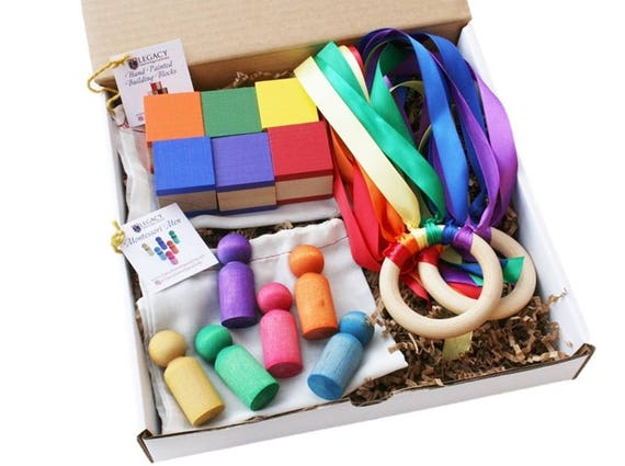 Montessori Gift Set Toddler Learning Activities
