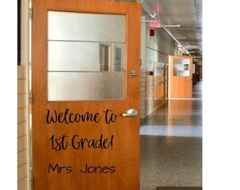 Classroom Door Vinyl Etsy