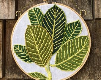 Leaf hoop