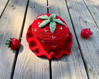 Strawberry Cane Beanie