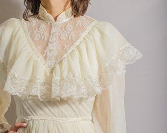 Vintage Prairie Victorian and Edwardian Inspired Dress