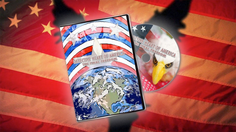 Detective Heart of America: The Final Freedom DVD Signed image 0