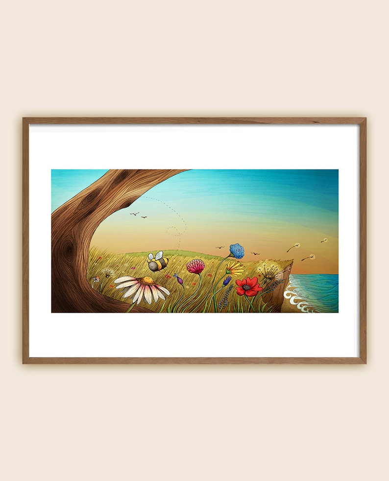 Art Print: The Earth Laughs in Flowers image 0