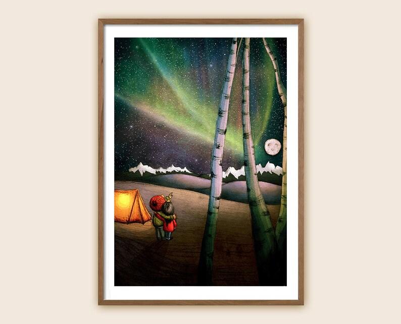 Art Print  Children's Illustration: Northern image 0