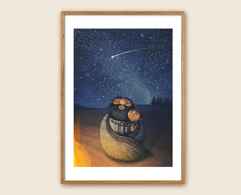 Art Print  Children's Illustration  Shooting image 0