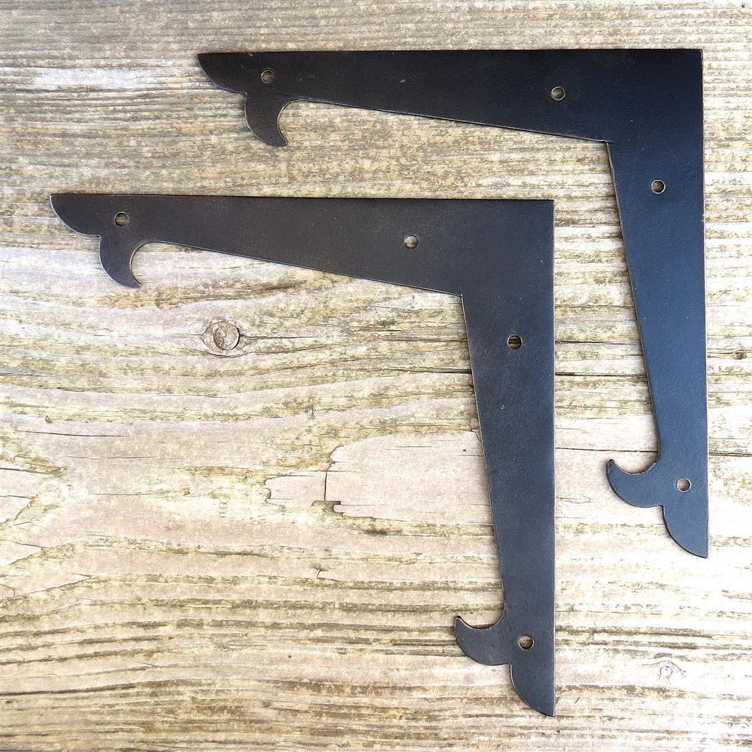2 Decor 6 Flat Corner Plates Door Picture Frame Brace | Etsy