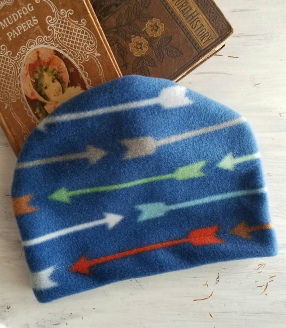 Arrow hat baby boy christmas gift winter hat warm fleece hat  4b073512e08a