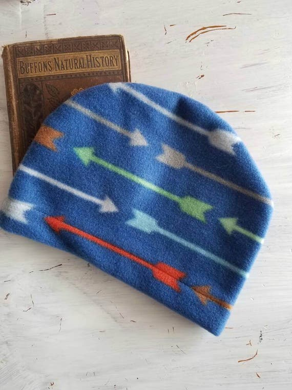 arrow hat baby boy christmas gift winter hat warm fleece hat  ca932d968f3d