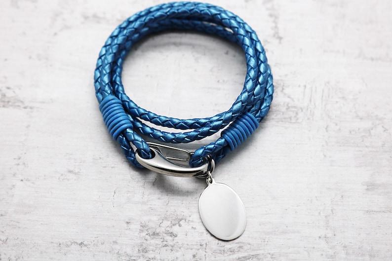Boys Leather Bracelet Boys Birthday Gift For Kids