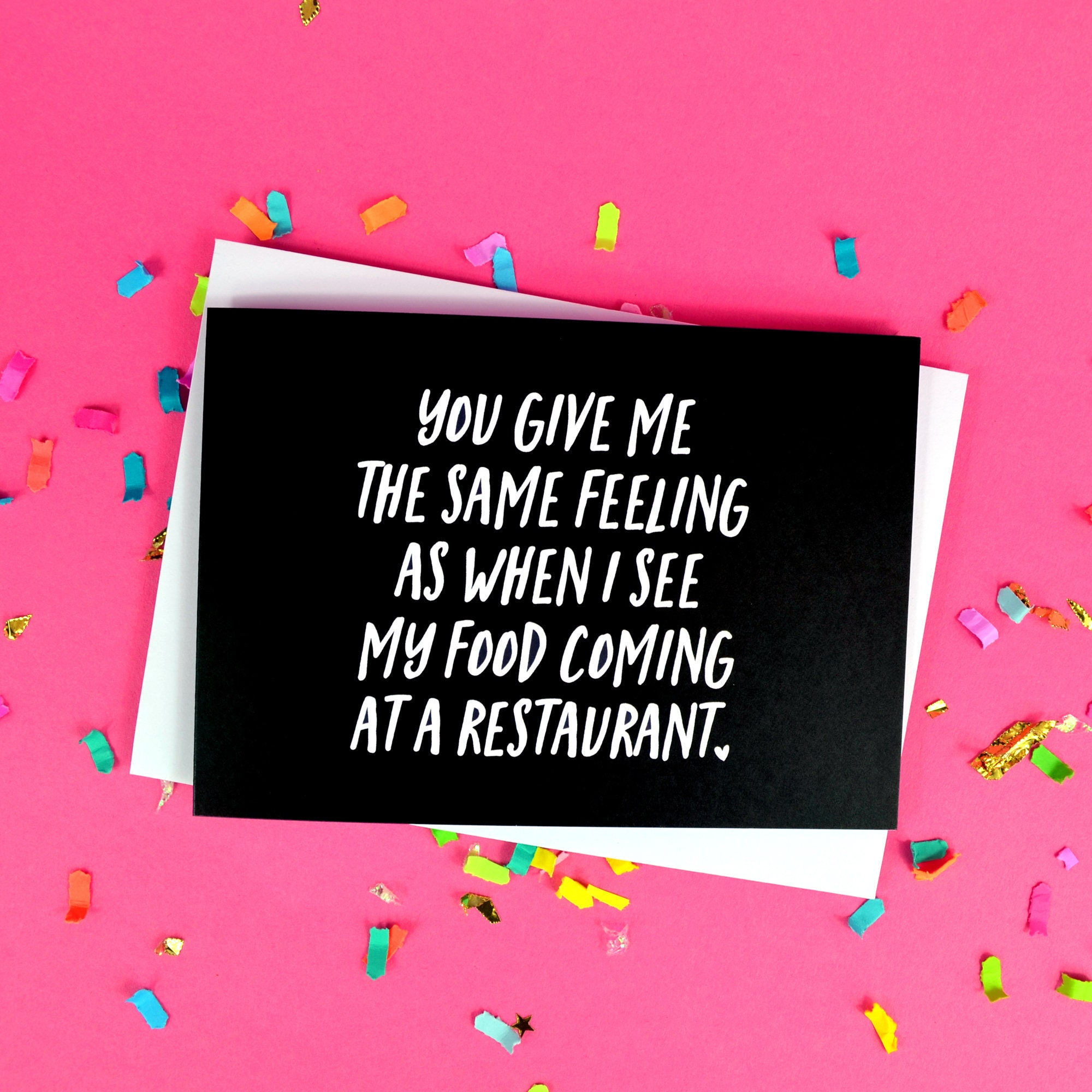 funny love card you give me the same feeling as when i see