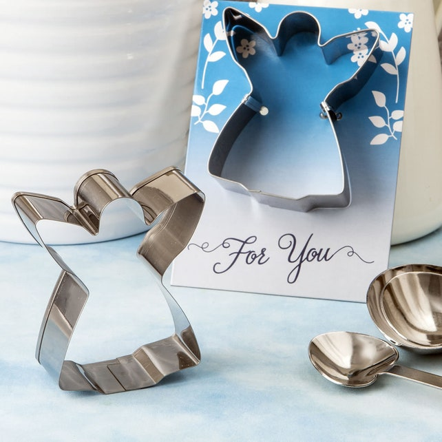 Angel Cookie Cutter Favors Pack Of 10 Wedding Reception Christmas