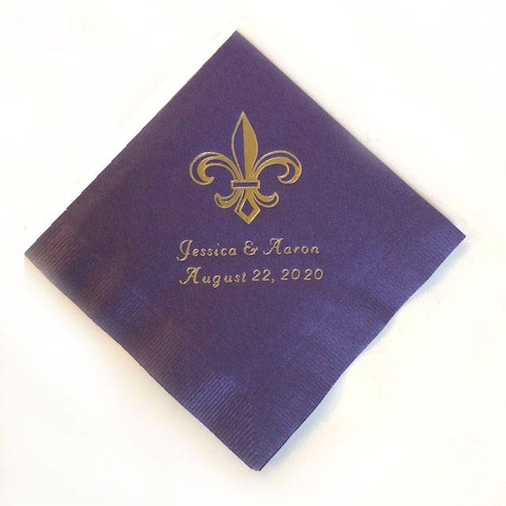 Personalized Napkins Printed Mask Masquerade Party Napkins Mardi Gras Custom Monogram Luncheon Dinner Guest Towel Available