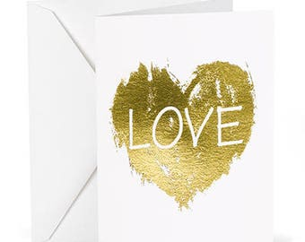 LOVE Wedding Thank You Notes (Pack of 50)