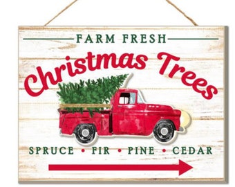 red truck christmas sign red truck sign red truck decor wreath decor sign wreath attachment wreath supplies wreath center wreath blank craft - Red Truck Christmas Decor