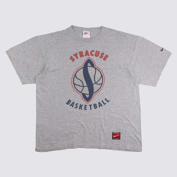 bfa1e2ed52f29 90s NIKE SYRACUSE BASKETBALL tshirt oversize nike shirt just