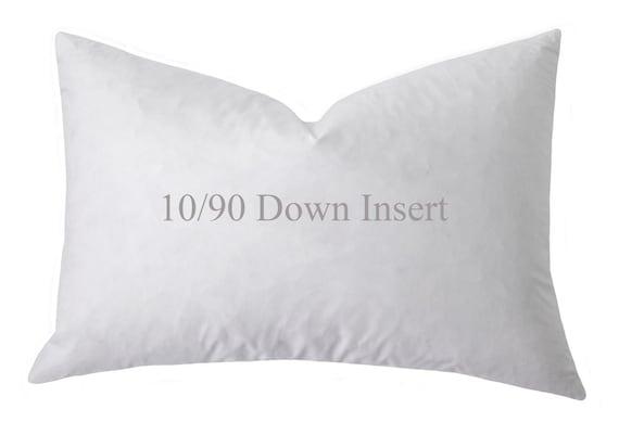 FeatherDown Pillow Insert 4040 Down Pillow Inserts 40x40 Etsy Best Feather And Down Pillow Inserts