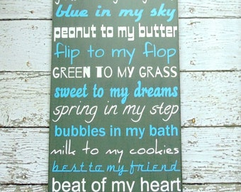 Wedding Gift - Romantic Wall Decor - Gifts For Her - Custom Wooden Sign - Master Bedroom Decor - Wedding Sign - Love Quote - Love Sign