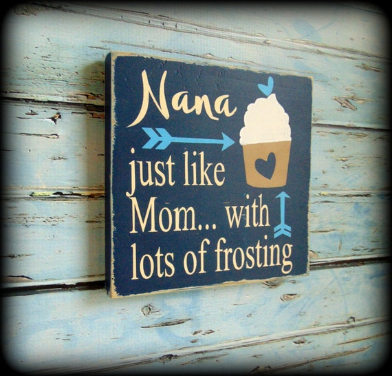 Gift For Her Birthday Present Mom Sign Rustic Home