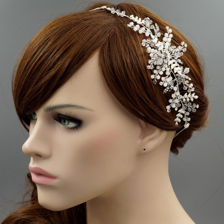 Headpieces For Weddings Ireland: Bridal Hair Vine Silver Hair Vine Silver Headpiece Rustic