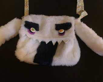 Yeti Fun-Fur Monster Purse