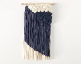 Navy Asymmetrical Weaving
