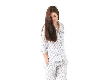Classic Sailor Pajama Set - Long Sleeve