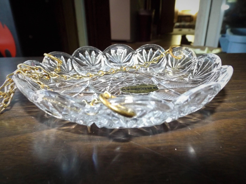 Germania Ovest mano tagliato piombo cristallo Candelier