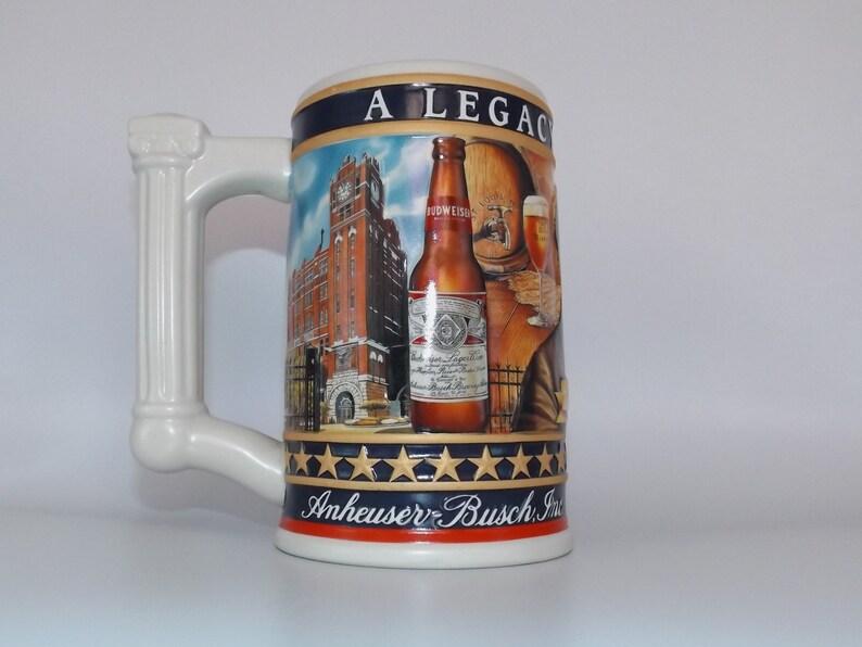 Vintage Busch Beer Stein, Anheuser Busch, Vintage Beer Advertisement,  Collectible Stein