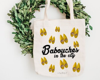 Tote Bag - Babouches in the City