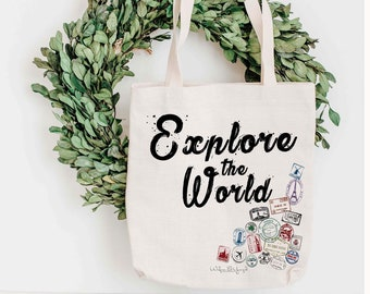Tote Bag - Explore the World
