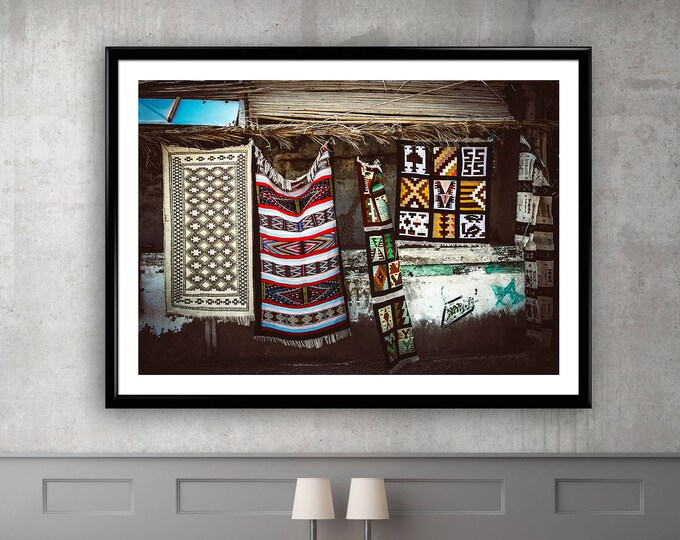 Photographie Fine Art - Tapis Berbères de Chott el-Jérid - Tunisie