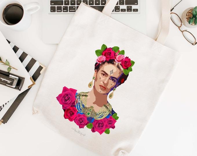 Tote Bag - Moroccan Frida Kahlo