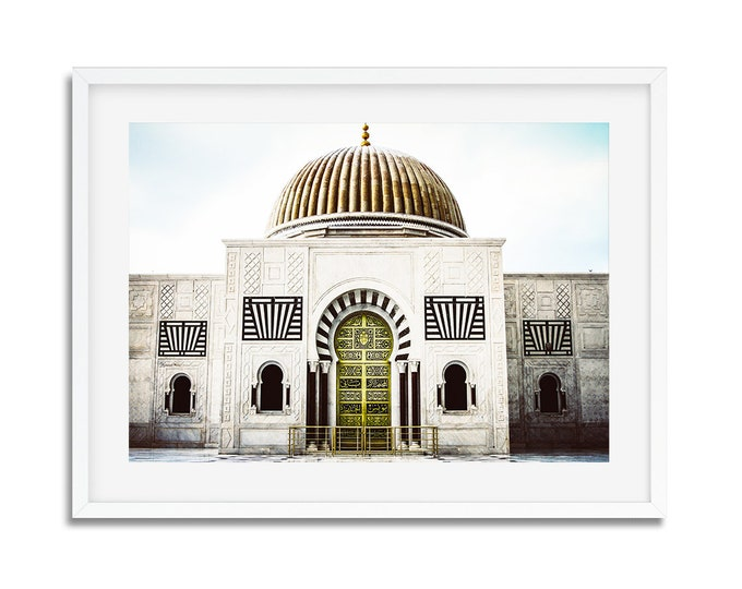 Photographie Fine Art - Mausolée de Bourguiba - Monastir - Tunisie