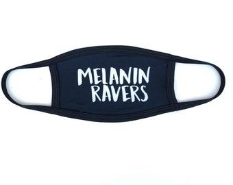 Melanin Ravers Dust Mask