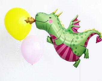 Trio de Dragon ballon - ballon de partie JUMBO mylar